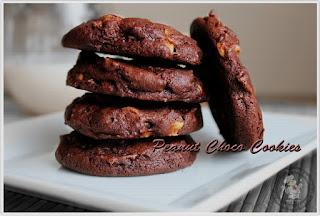 Cara Membuat Peanut Chocolate Cookies Renyah Manis Gurih