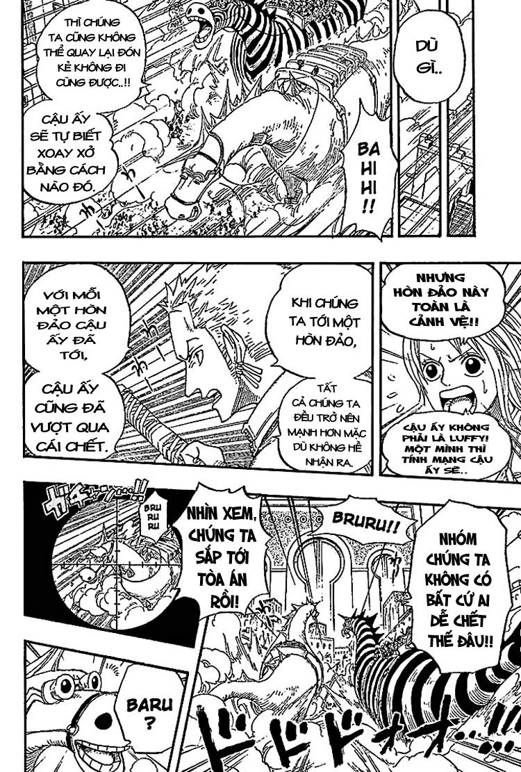 One Piece Chap 383 - truyen One Piece online