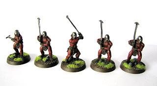 Malowanie figurek Berserkerów Uruk-Hai