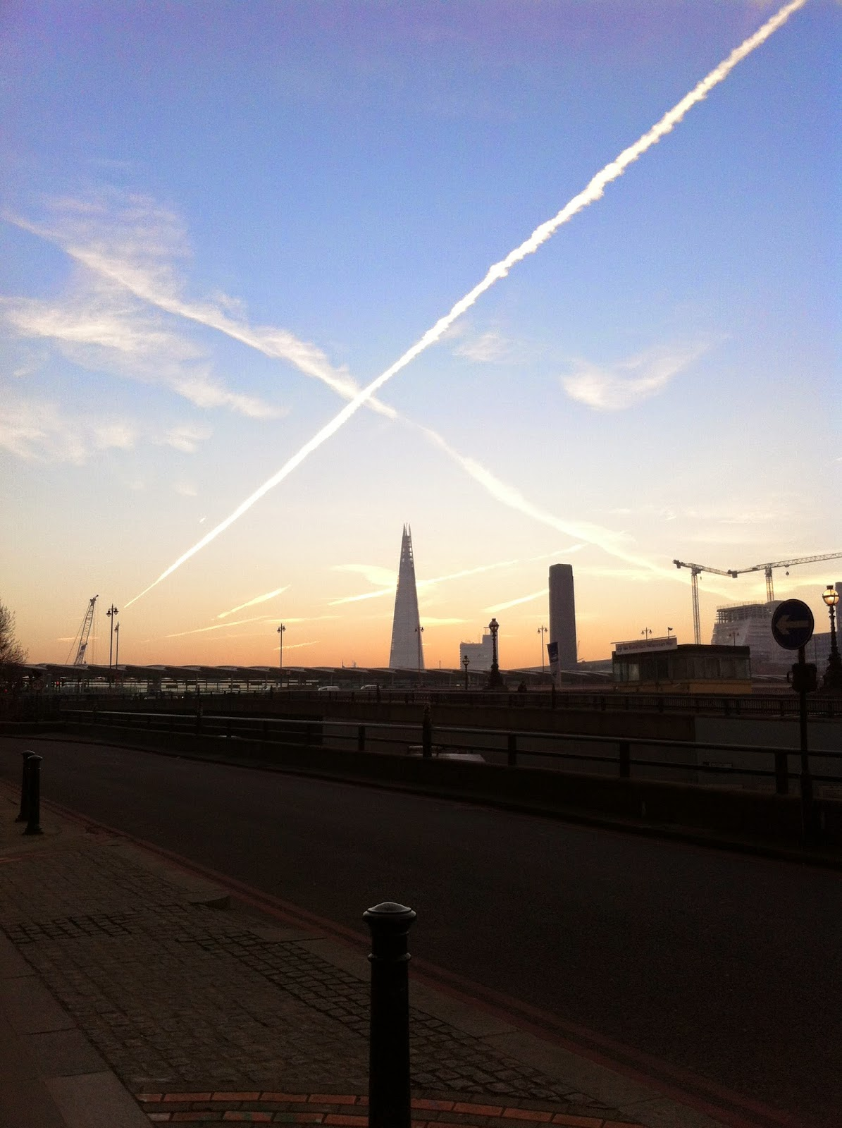 London and The Shard View