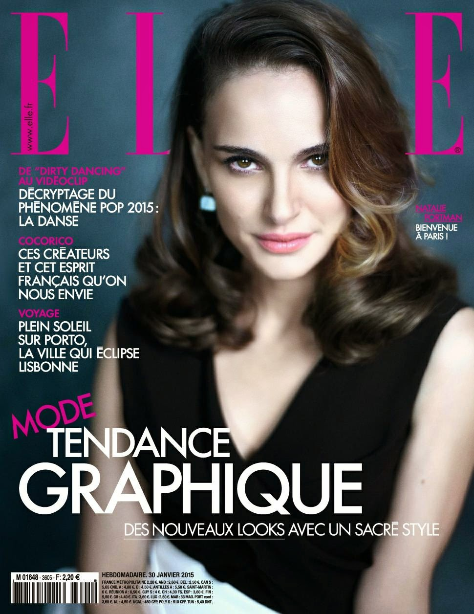 Actress, Producer, Director: Natalie Portman for Elle France