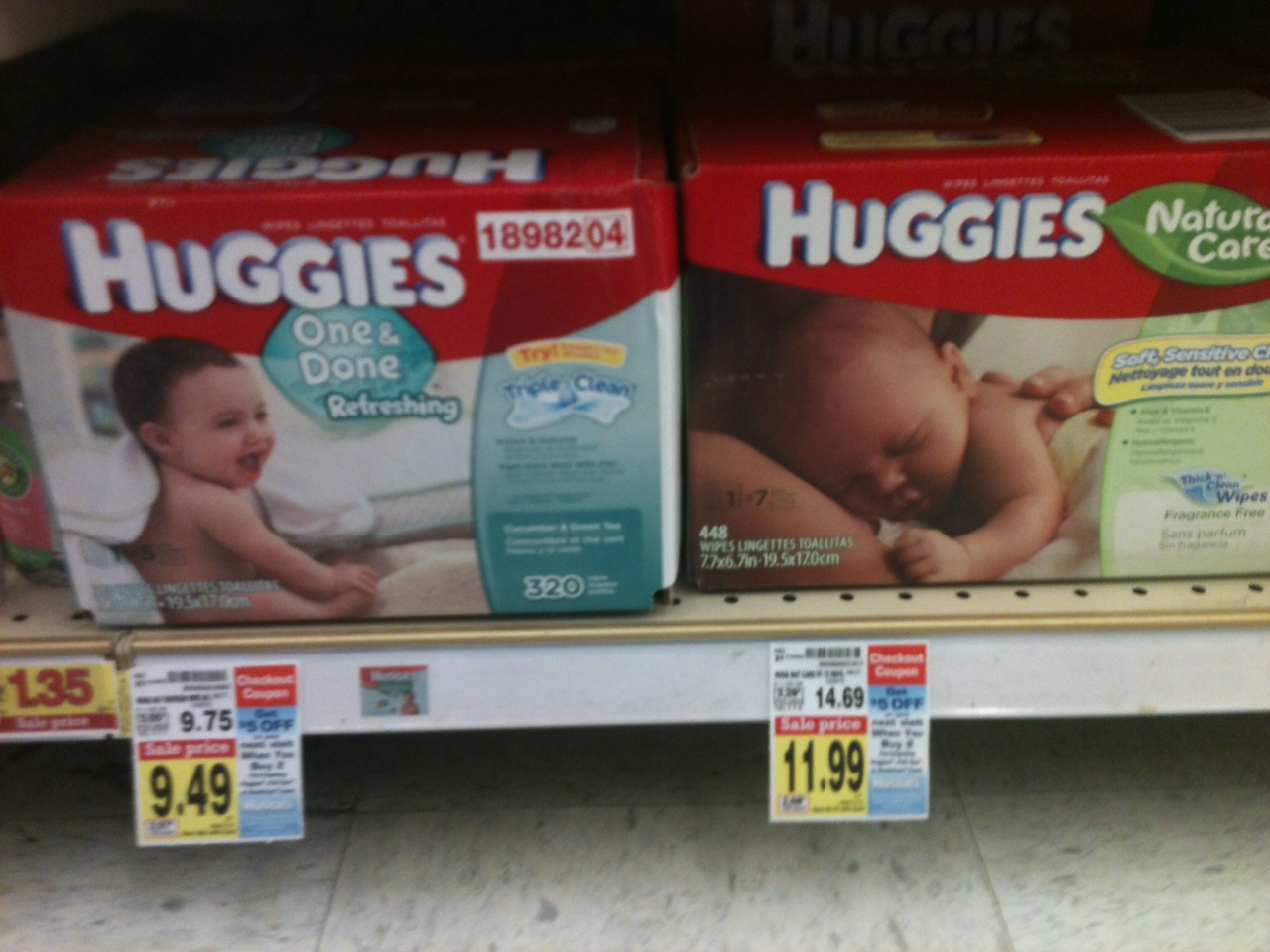 nice deals on huggies diapers and wipes at kroger with