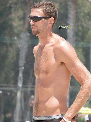 Ryan Doherty Shirtless at the NVL Malibu 2011