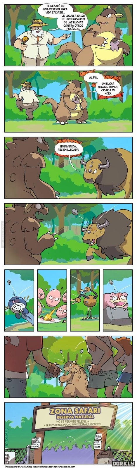 Lógica Pokemon: 'Zona safari'