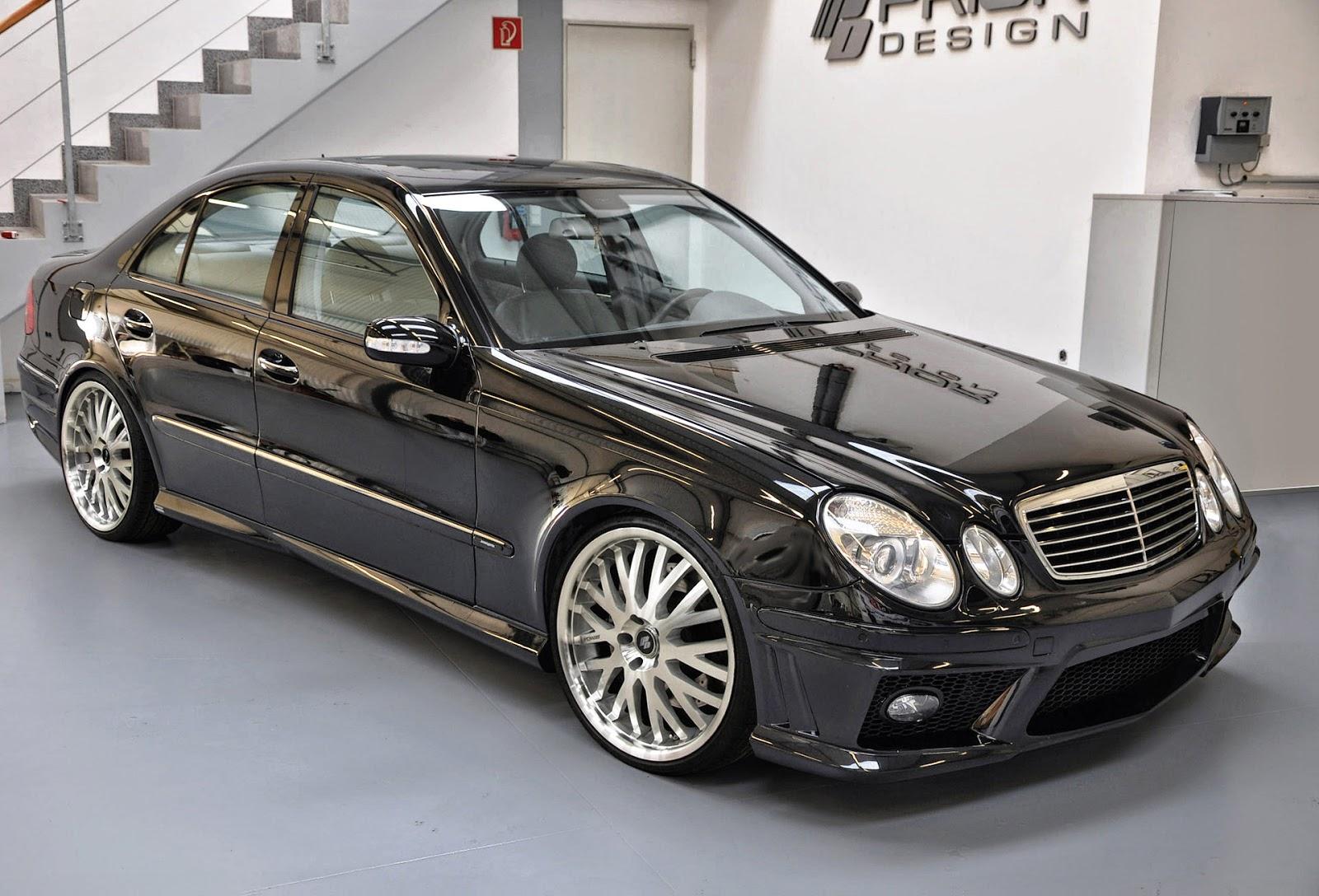 Mercedes benz e klasse w211 prior design body kit benztuning for Mercedes benz body kit