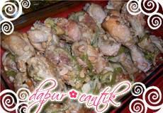 Resep Tauco Ayam Dapur Cantik