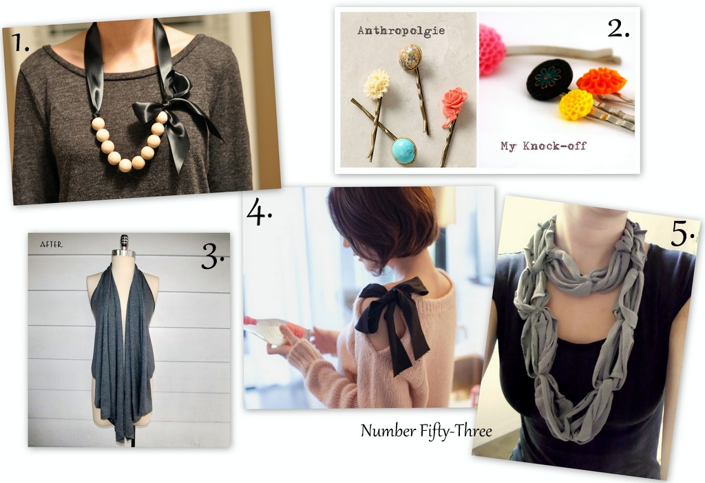 Number Fifty-Three: Fashionable DIY