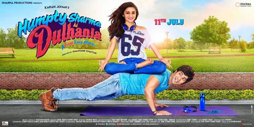Brand new poster of Humpty Sharma Ki Dulhania starring  Varun Dhawan & Alia Bhatt!