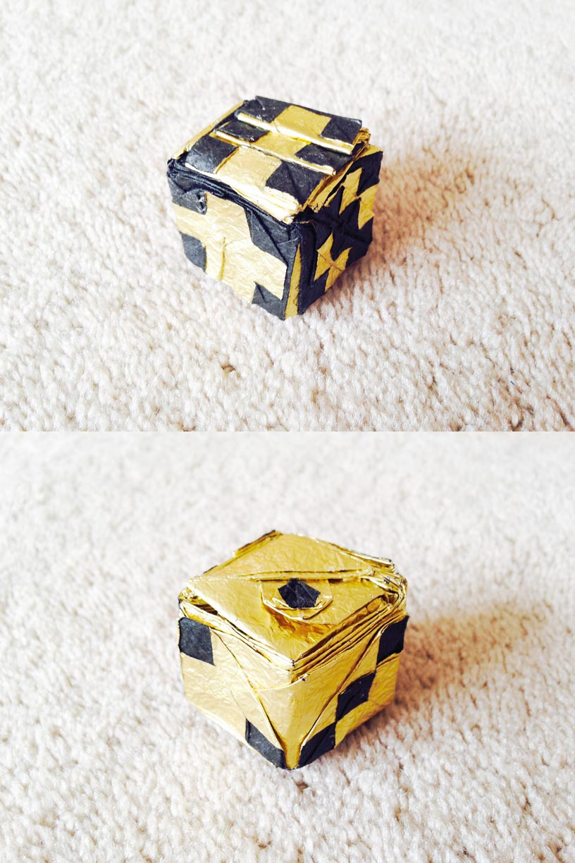 joeorigami origami dice