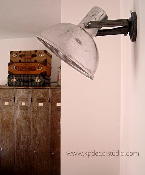 Apliques vintage estilo industrial