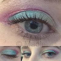 Makeup Revolution Redemption Palette Mermaids vs Unicorn: Little Unicorn Eye Makeup