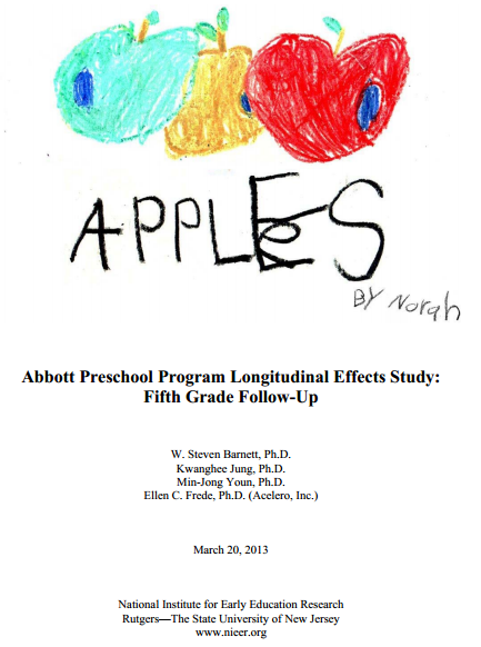 abbott preschool program do positive effects of preschool programs on poor children 458