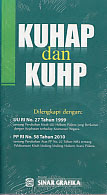 toko buku rahma: buku KUHP dan KUHAP, pengarang redaksi sinar grafika, penerbit sinar grafika