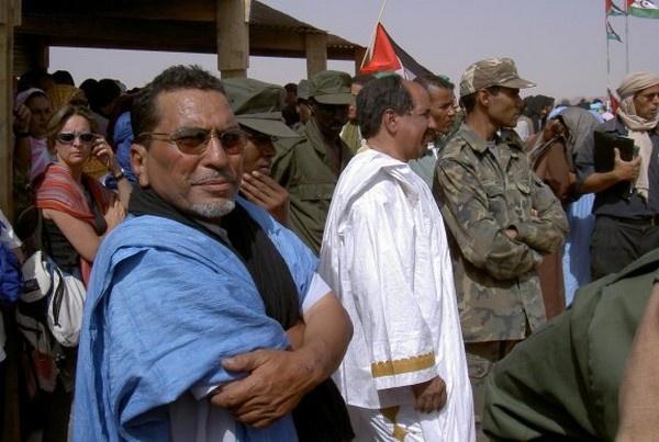 dirigentes del Frente Polisario