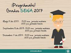 Prográmate Grados SENA 2017