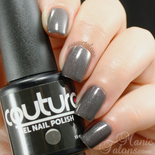 Couture Gel Nail Polish London's Fog Swatch
