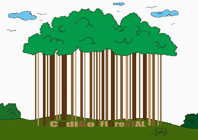 Autossustentável: charge Código Florestal Brasileiro