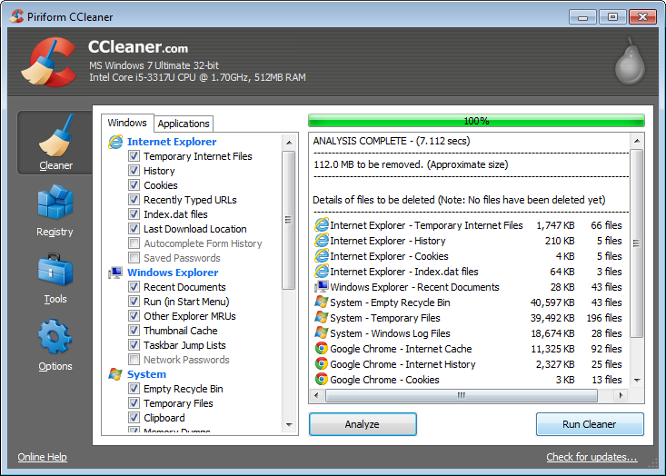 Download CCleaner v4.10 with license key