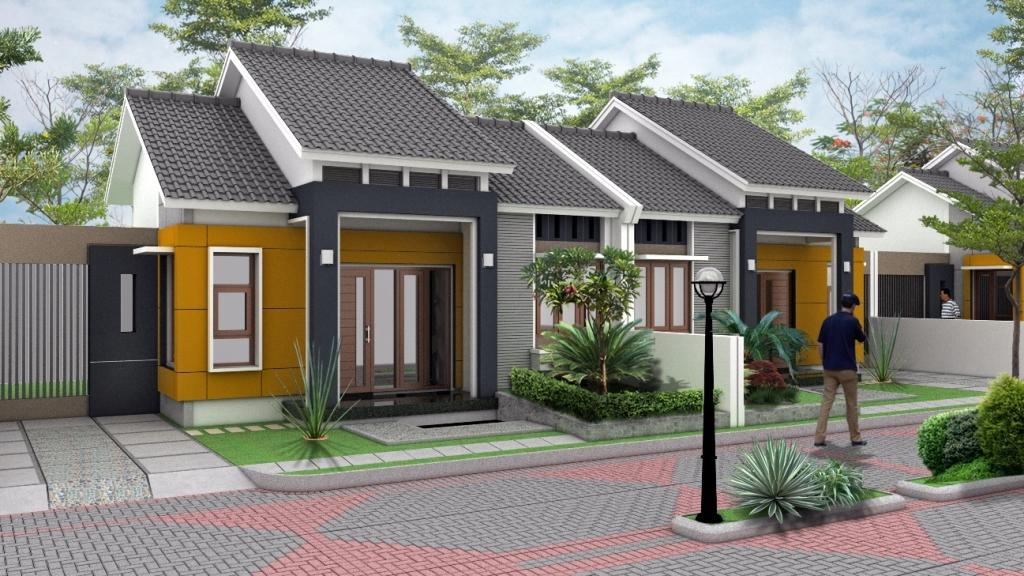 Kiat Desain Rumah Minimalis Modern: RUMAH TERANG DENGAN CAHAYA ALAMI
