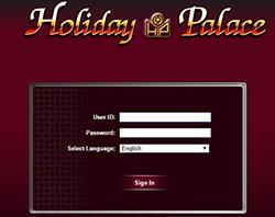 login holiday palace