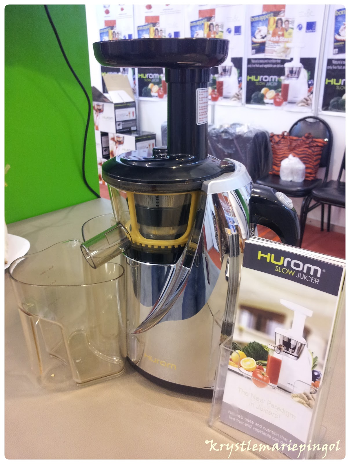 Hurom Slow Juicer - The New Paradigm in Juicers Live.. Love.. Laugh.. Work..