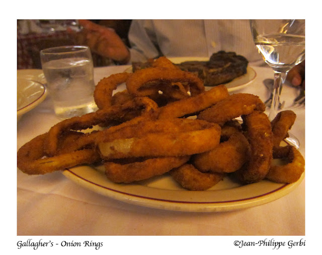 Image of Onion rings at Gallagher's Steakhouse in NYC, New York