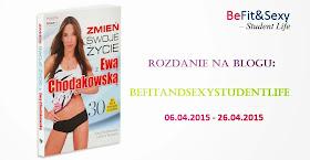Do 26 kwietnia 2015 rozdanie na blogu BeFit&SexyStudentLife