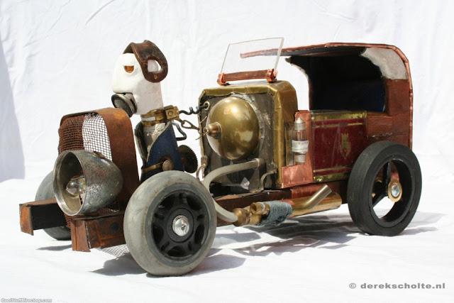 Dr. Abundiantus' towncar