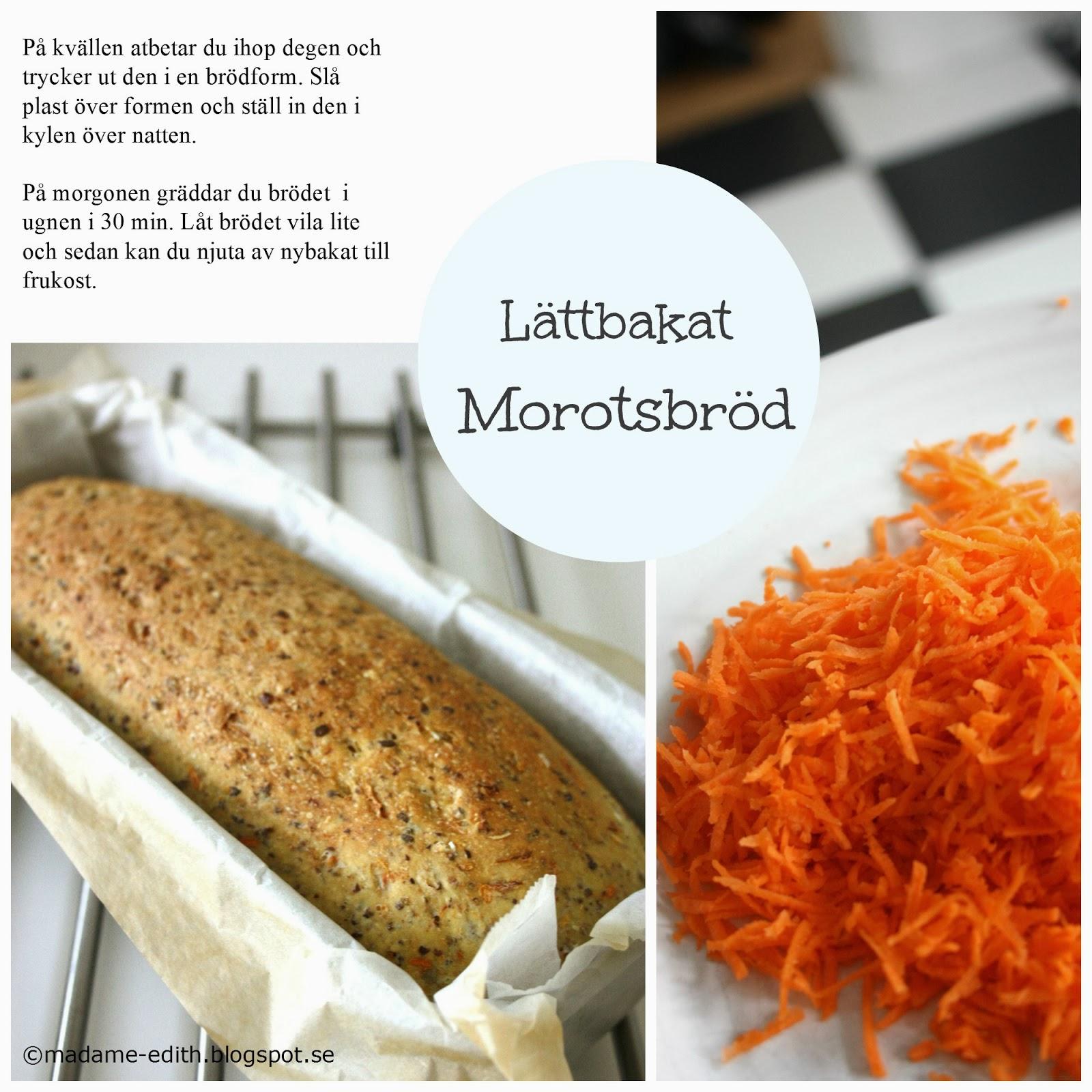 morotsbröd i form
