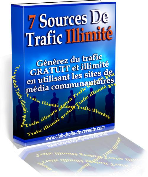 Les 7 Outils pour du trafic illimité