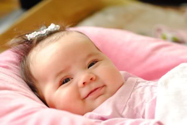 Cute Asian Baby Girl Smiling Picture
