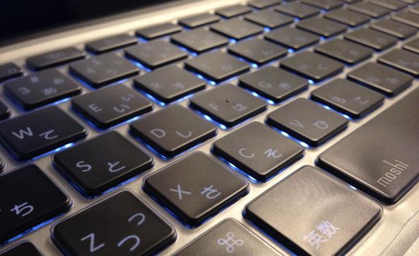 moshi clearguard MacBook Pro等対応 日本語キーボードカバー