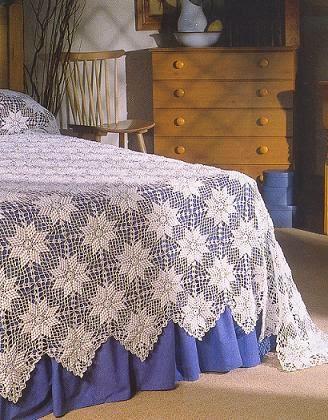 couvre lit crochet gratuit Melissa Melina Crochet: Couvre lit au crochet patron gratuit couvre lit crochet gratuit