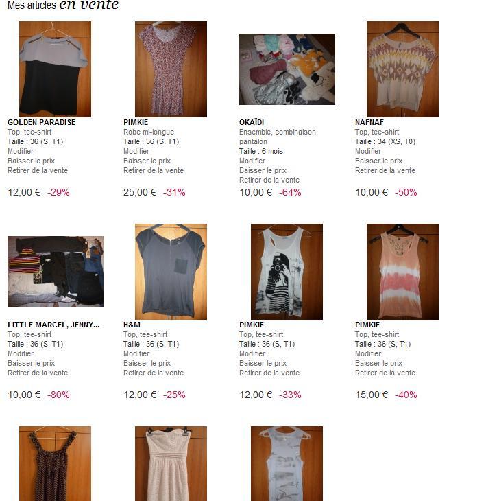 Stefany la photo et la mode mon vide dressing en ligne for Mon dressing en ligne
