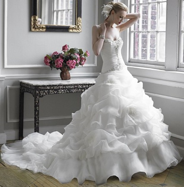 Most considered beautiful wedding dresses 2017 brides for Wedding dresses in the usa