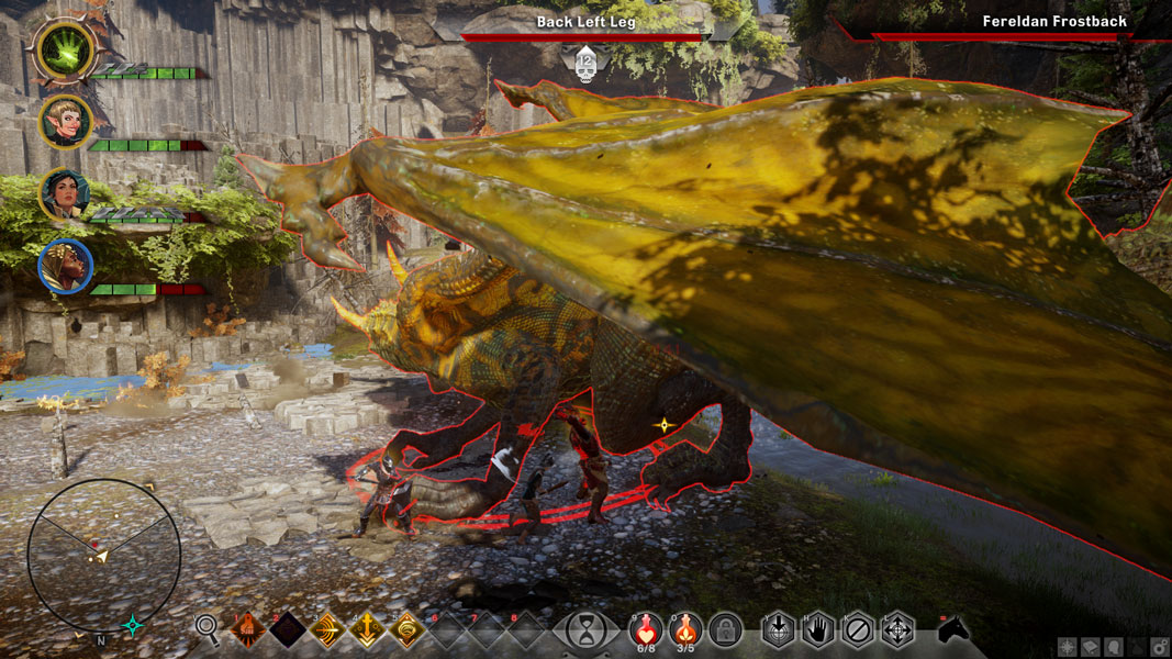 Dragon Age: Inquisition Fereldan Frostback