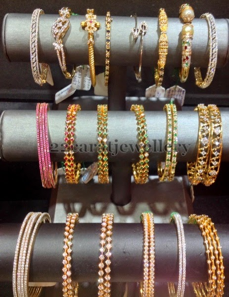 Simple Bangles Sets By Tanmai Jewels Jewellery Designs