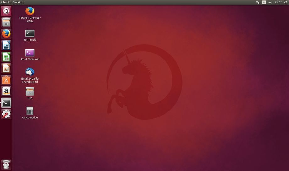 Ubuntu - Collegamenti nel Desktop