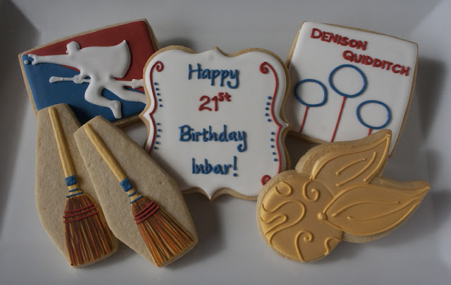 harry potter birthday cookies