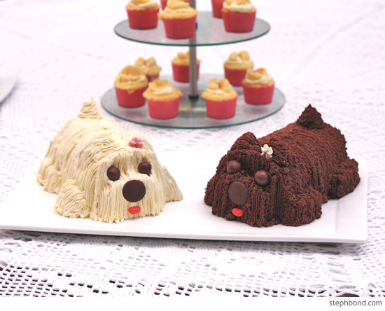 Bondville How To Make A Puppy Cake