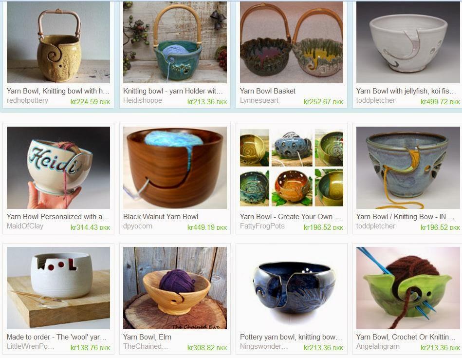 Garn bowle i keramik