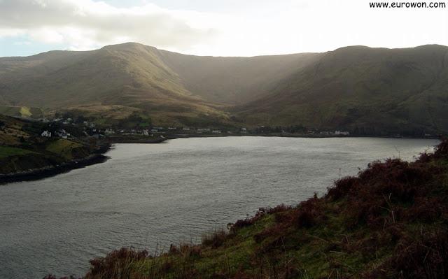Fiordo de Killary en el norte de Irlanda