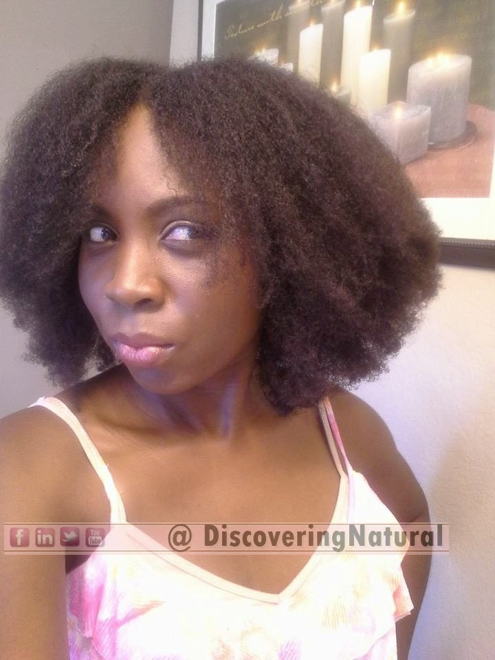 Banding Natural Hair