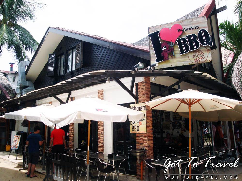 Backyard Love i love backyard bbq at d-mall boracay | got to travel