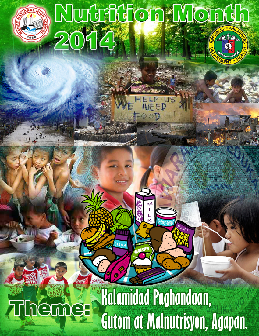 electronic posters Nutrition Month 2014