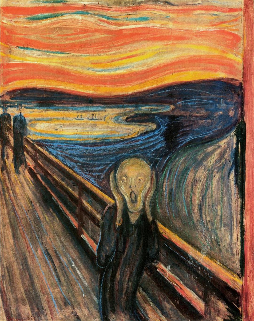 Skriget fra Edvard Munch (1893)
