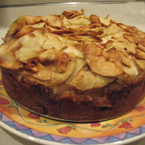 Rustic Tuscan Apple Cake Recipe