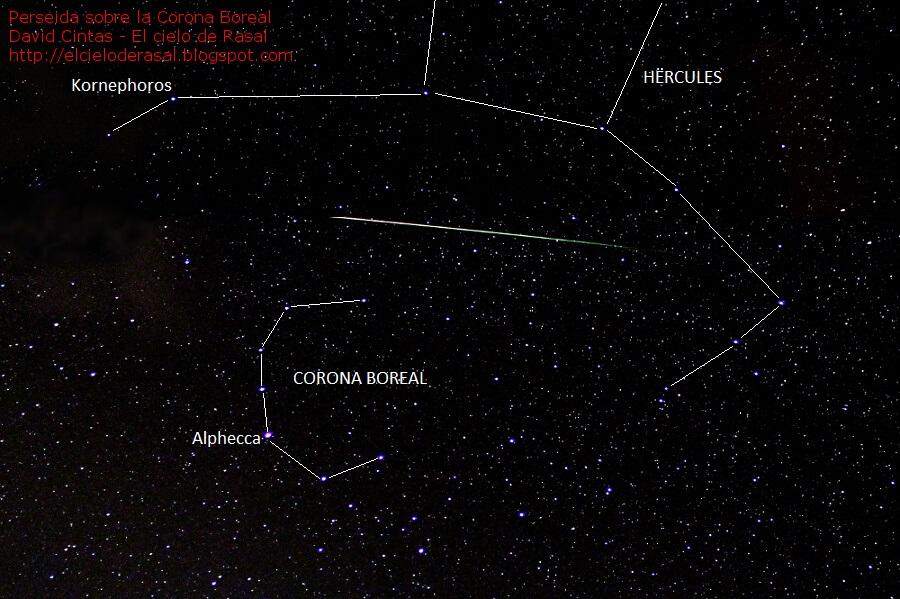Corona boreal hercules - El cielo de Rasal