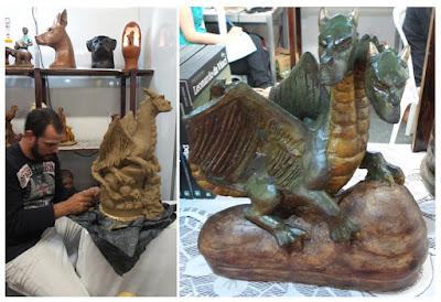 artesã; artesão; artista plástico; arte com barro; Emanuel Sacramento; artesanato; feira; arte popular; lazer.