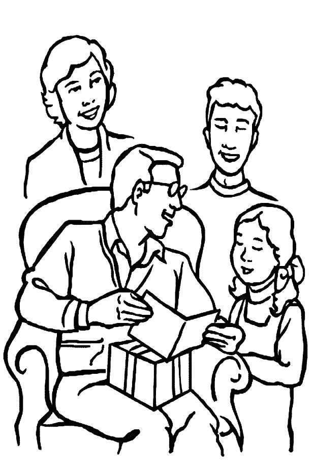 de pai e filhos para colorir e enviar para seu pai desenhos de pai e